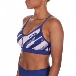 Venum Rapid Sport Bra Women Navy Blue Coral