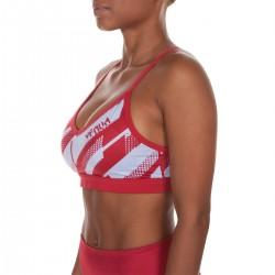 Venum Rapid Sport Bra Women Coral Light Cyan