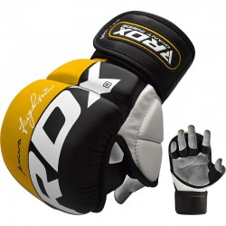 RDX MMA Sparring Handschuh T6 gelb