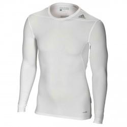 Abverkauf Adidas Techfit Base LS White