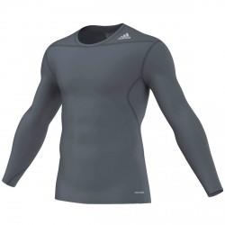 Abverkauf Adidas Techfit Base LS Grey