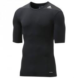 Abverkauf Adidas Techfit Base SS Black