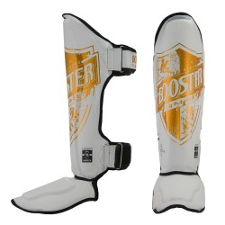 Booster Shinguard Pro Shield 1 White Gold