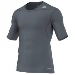 Abverkauf Adidas Techfit Base SS Grey