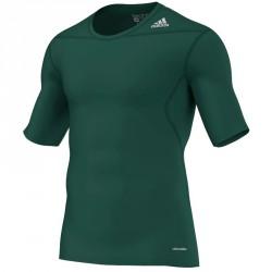 Abverkauf Adidas Techfit Base SS Green