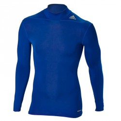 Abverkauf Adidas Techfit MOC LS Blau
