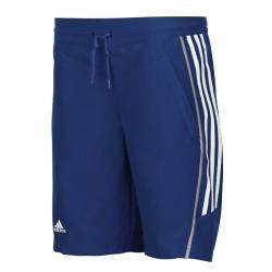 Abverkauf Adidas T8 Woven Short Jugend Blau