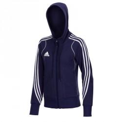 Abverkauf Adidas T8 Team Hoody Jugend Blau