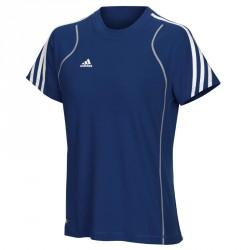 Abverkauf Adidas T8 Team T-Shirt Frauen Blau
