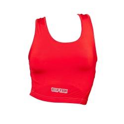 Top Ten Damen Brustschutz Maxi mit Einlage Rot