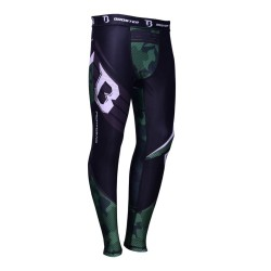 Booster B Force 3 Spats Camo Green