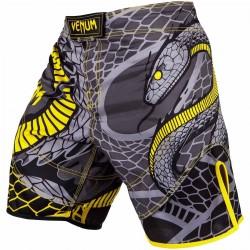 Venum Snaker Fightshorts Black Yellow