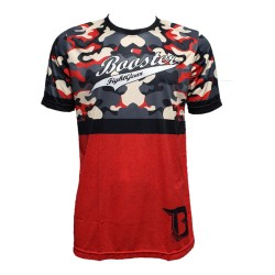Booster AD Urban 2 T-Shirt Red Camo