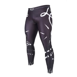 Manto Voodoo 2.0 Grappling Tights Black