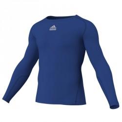 Abverkauf Adidas TechFit CS LS Royalblau