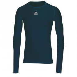 Abverkauf Adidas TechFit CS LS Navyblau