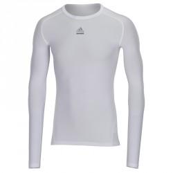 Abverkauf Adidas TechFit CS LS Weiss