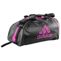 Adidas Training 2in1 Sporttasche Schwarz Shock Pink