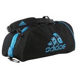 Adidas Judogi 2in1 Sporttasche Schwarz Blau