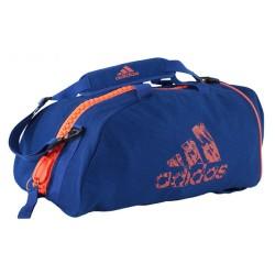 Abverkauf Adidas Judogi 2in1 Sporttasche Blau Orange