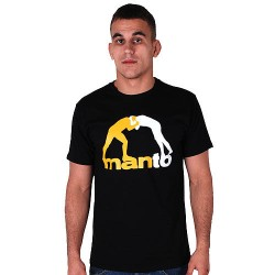 MANTO Tshirt CLASSIC black