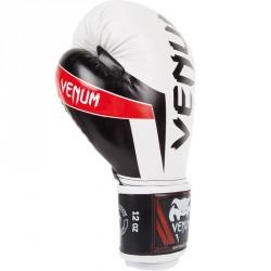Venum Elite Boxing Glove White