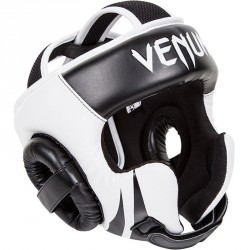 Venum Challenger 2.0 Headgear Hook & Loop Strap Black Ice