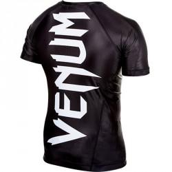 Venum Giant Rashguard Black SS