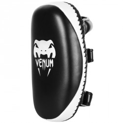 Venum Light Kick Pad Skintex Leather Black Ice -Paar