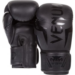 Venum Elite Boxhandschuh Neo Matte Black