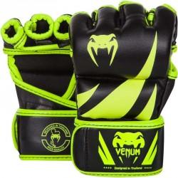 Venum Challenger MMA Gloves Neo Yellow Black