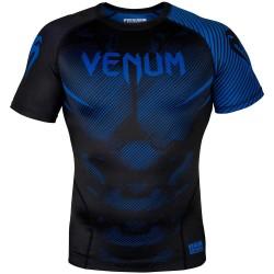 Venum Nogi 2.0 Rashguard SS Black Blue