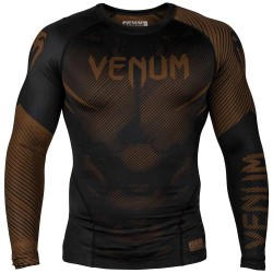 Venum Nogi 2.0 Rashguard LS Black Brown