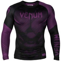 Venum Nogi 2.0 Rashguard LS Black Purple