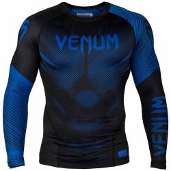 Venum Nogi 2.0 Rashguard LS Black Blue