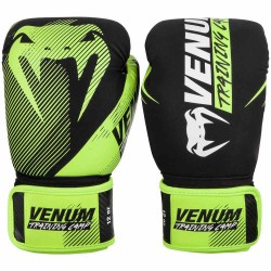 Venum Training Camp 2.0 Boxing Gloves Black Neo Yellow