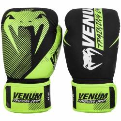 Venum Training Camp 2.0 Boxing Gloves Black Neo Yellow