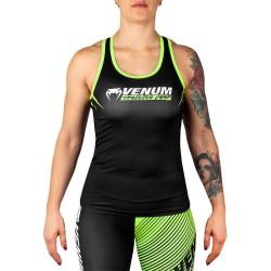Venum Training Camp 2.0 Tank Top Woman Black Neo Yellow