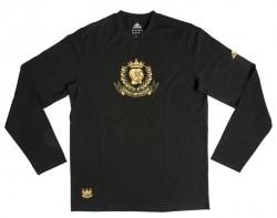 Abverkauf Adidas Boxing Club Leisure TShirt LS black-gold