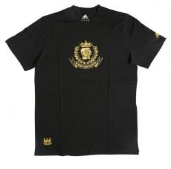 Abverkauf Adidas Boxing Club Leisure TShirt SS black-gold