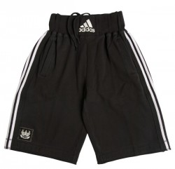 Abverkauf Adidas Training Short heavy cotton black