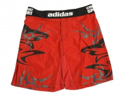 Abverkauf Adidas Shark MMA Fightshort red black