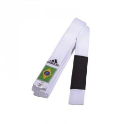 Adidas BJJ G&uumlrtel weiss