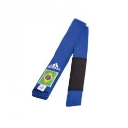 Adidas BJJ G&uumlrtel blau