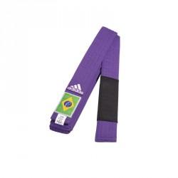 Adidas BJJ G&uumlrtel lila