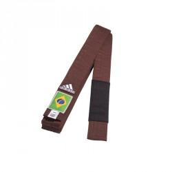 Adidas BJJ G&uumlrtel braun