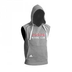Abverkauf Adidas Sleeveless Hoody grey ADITB081