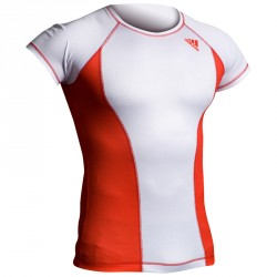 Abverkauf Adidas Rashguard Octagon Power White Red