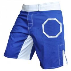 Abverkauf Adidas Fightshort Octagon Power Blue White