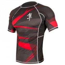 Abverkauf Hayabusa Metaru Rashguard Black-Red Shortsleeve S